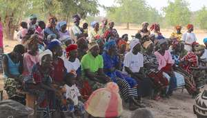 Community Meeting - Village of Kamsi