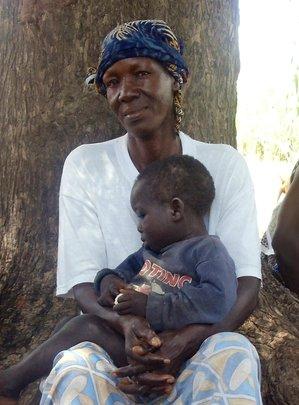 Mariam R, 59 year old Grandmother in Sisene