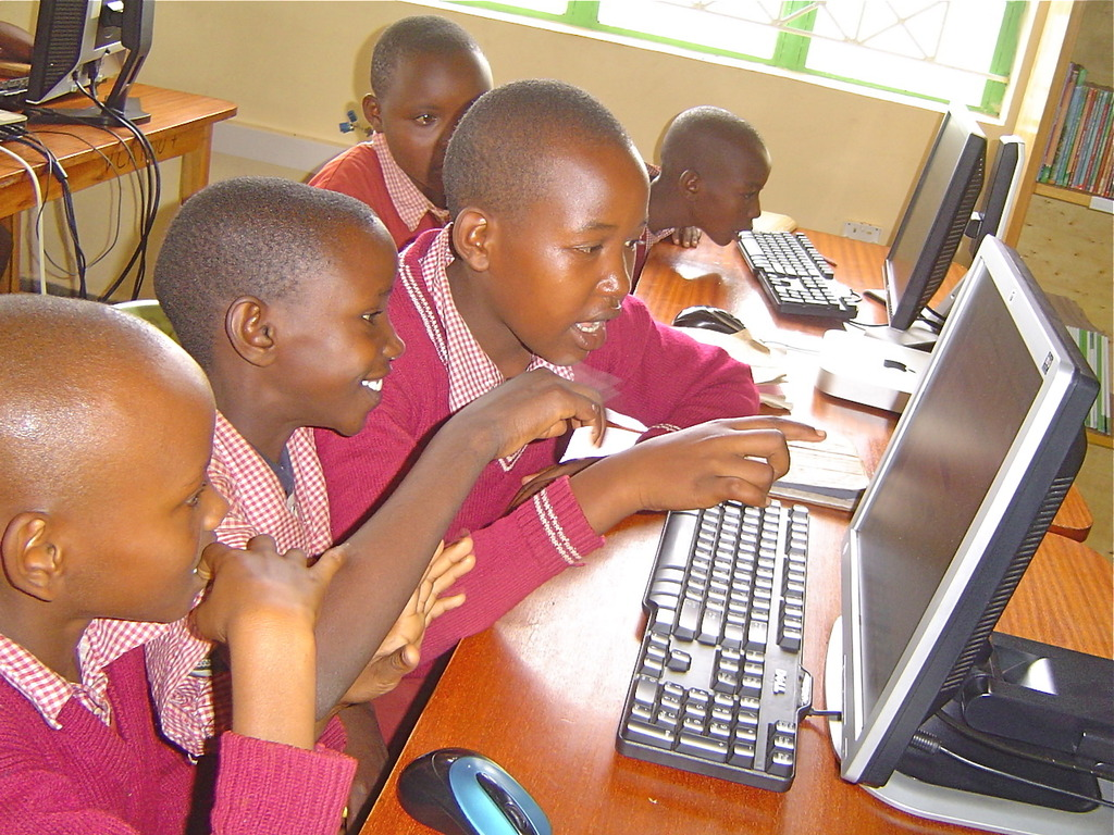 Wamunyu ABC. The excitement of online learning!