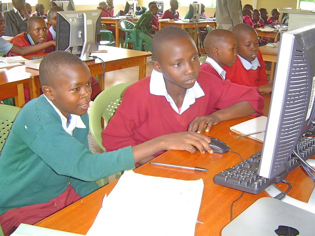 A class from Miini PS at the lRC