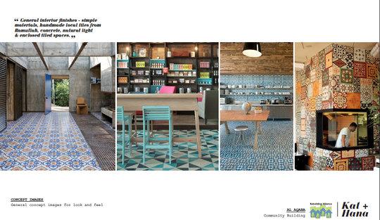 Design Concept: Interior of Rural Women's Center