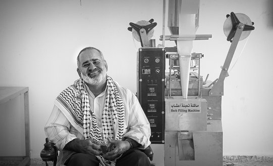 Haj Sami Sadeq Sbaih, Mayor of Al Aqaba Village