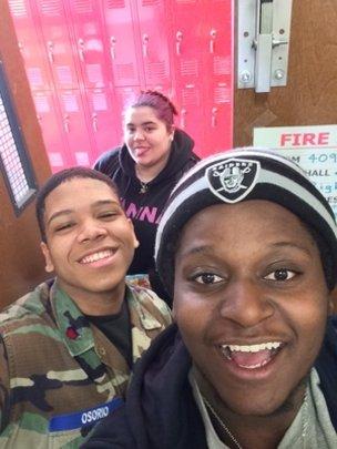 Senior selfies!