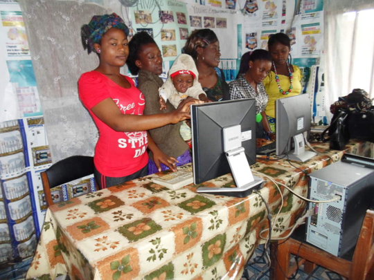 15 Computers for Teenage Mother Institute in Buea