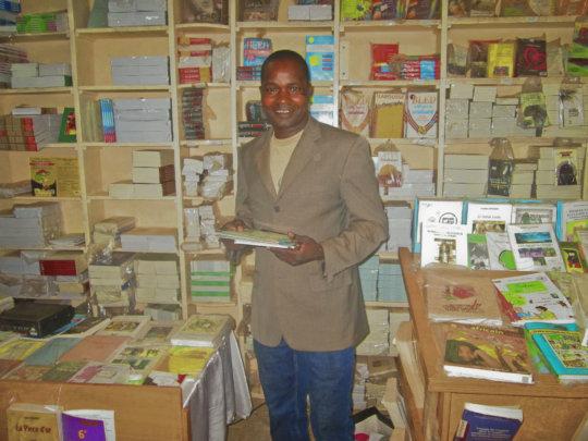 Dounko at bookstore