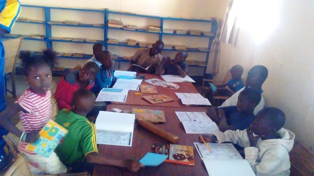 Reading Fatou Keita in Ouargaye