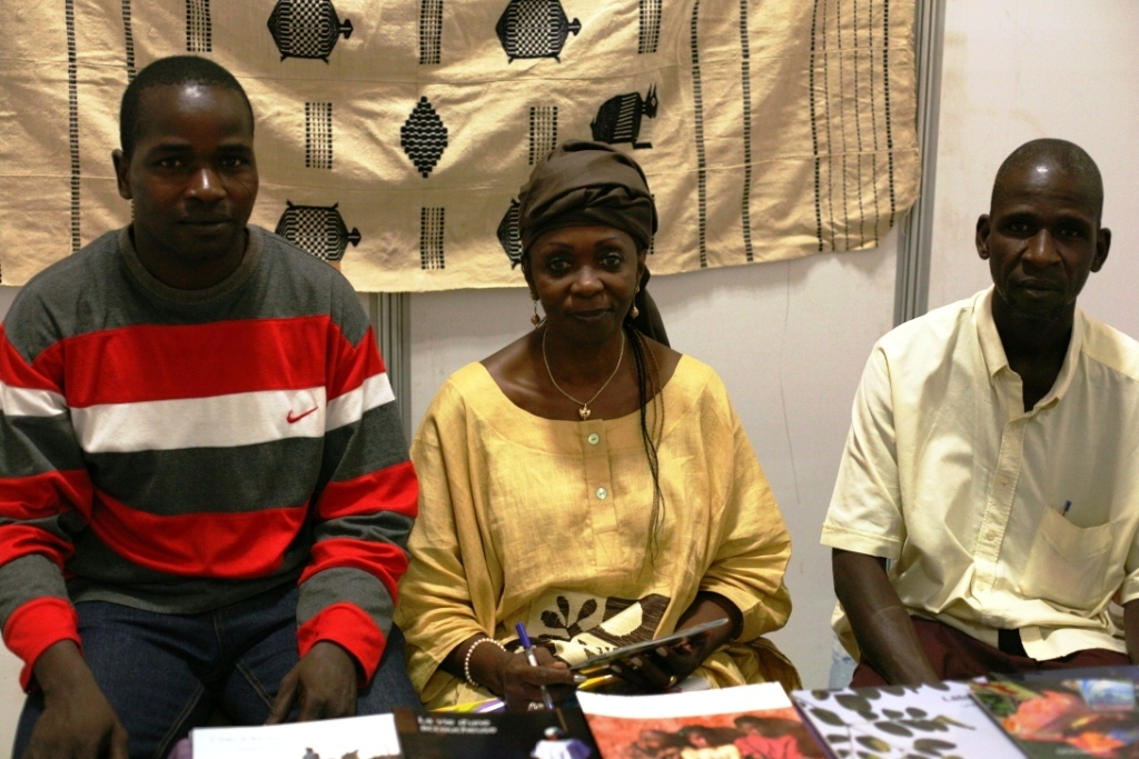 Meeting with Fatou Keita at Annual Ouaga Book Fair
