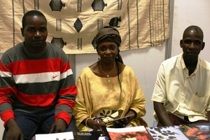 Meeting with Fatou Keita at Annual Ouaga Book Fair