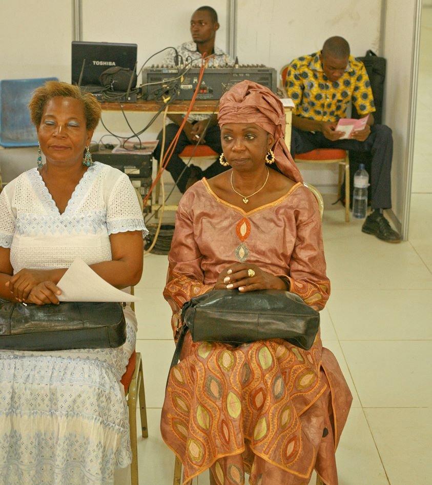 Dounko got to meet Fatou Keita in CI- on the right