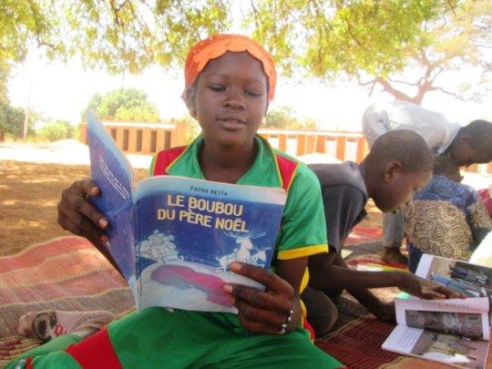 Bring 15 Fatou Keita Books to 13 Village Libraries