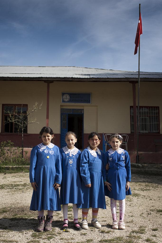 Educate 14 Girls in Turkey by 2014