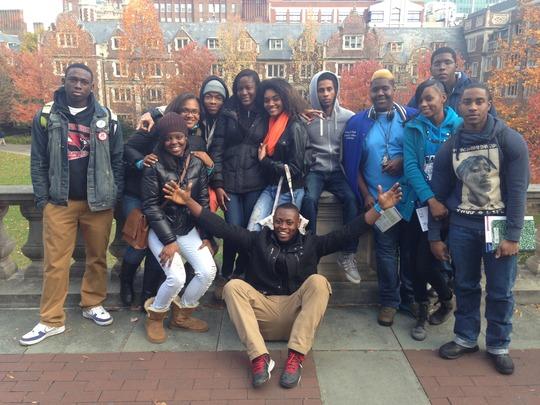 GK Students Tour UPenn in November