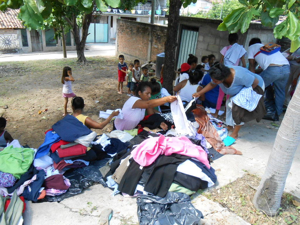 Organized community women sharing our help!