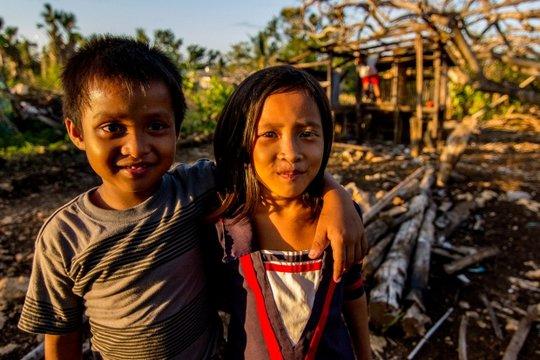 Children survivors, photo courtesy of Mercy Corps