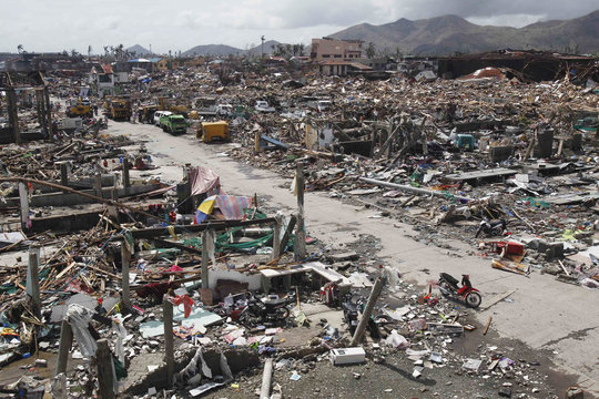 Thousands of homes lie destroyed