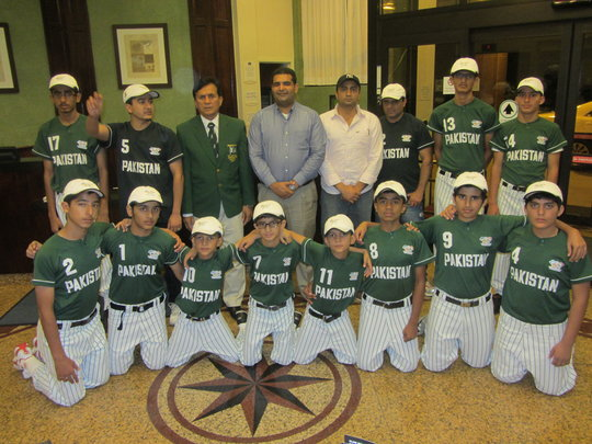 Growing Baseball for Children in Pakistan