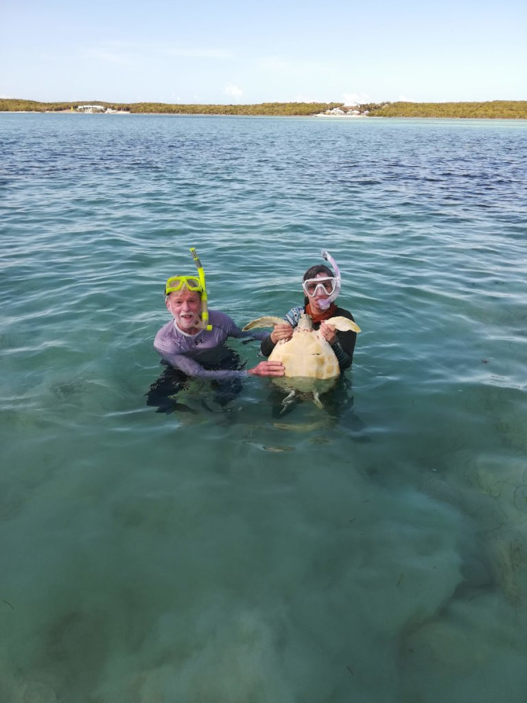 A successful snorkel chase!