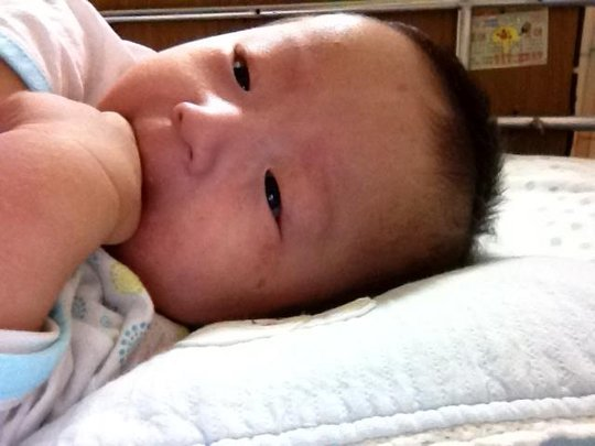 Minho in the hospital, fall 2011
