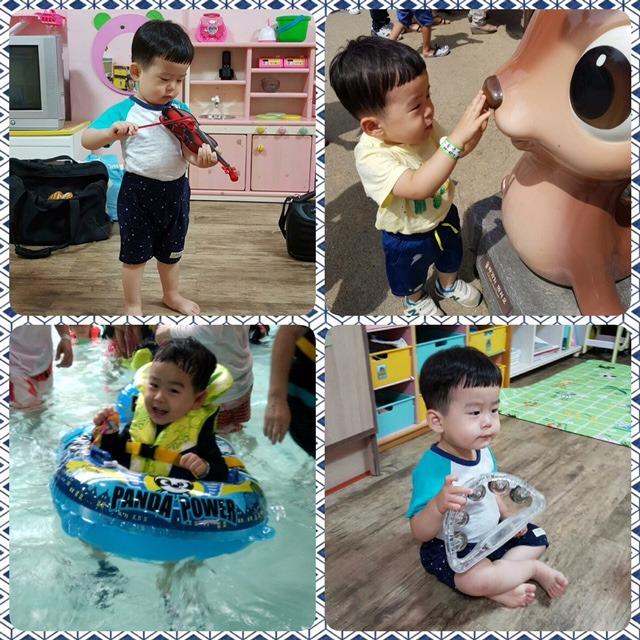 J.S. enjoying summer activities
