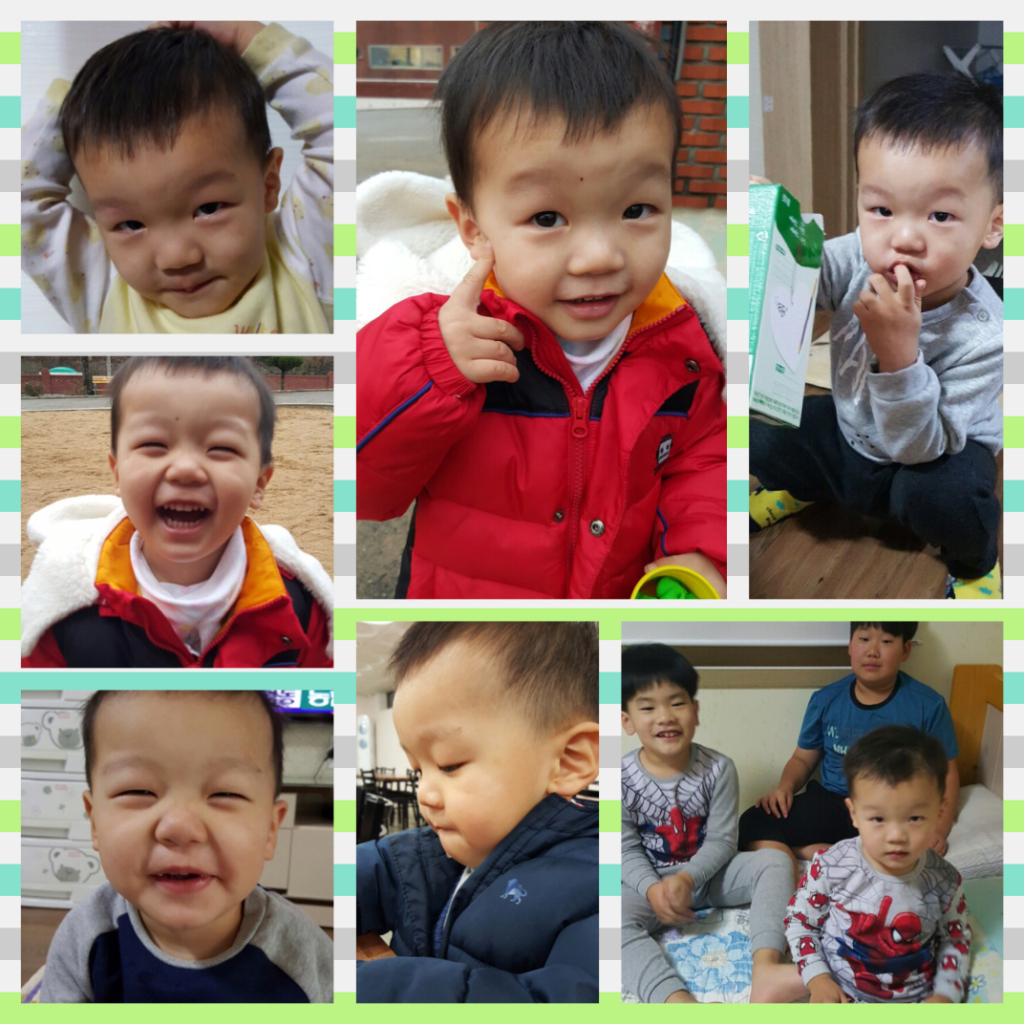 JY has many cute and curious faces!