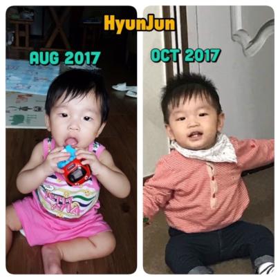 HyungJun - Current preschool scholarship recipient
