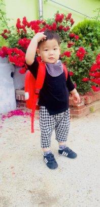 Jay, KKOOM's preschool scholar, is 26 months old.