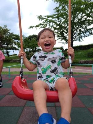 Hank is 2-years-old & a new preschool scholar