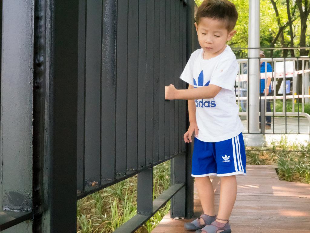 Minho, US age 4, August 2015
