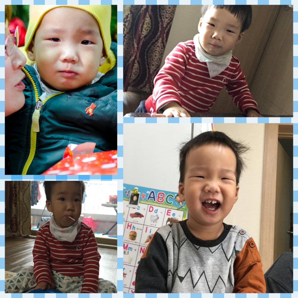 SH started preschool in Jan. 2016.