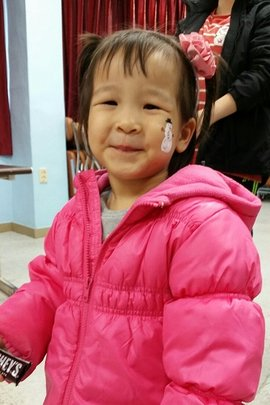 Suzy(2) has been in preschool this year.