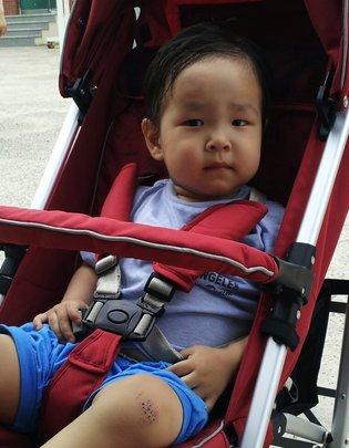 S.H., age 2