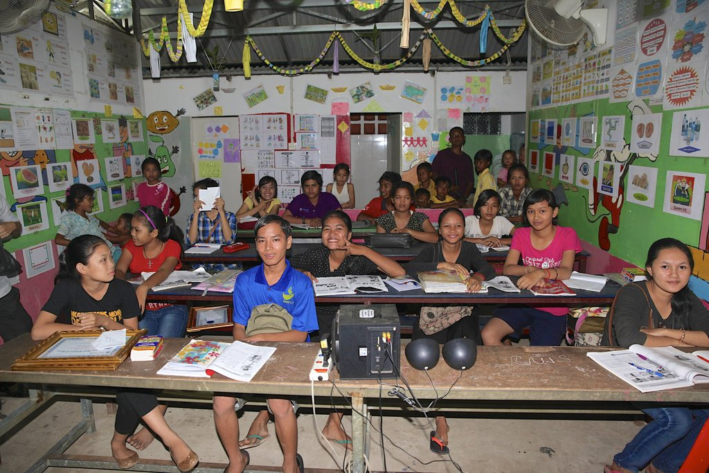Enhance classrooms in Cambodia for 1,200 Kids!