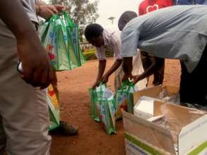 Ekitobeero distribution in rural Uganda