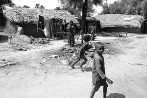 Village near Bodhgaya