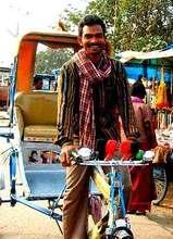 New Rickshaw at Work