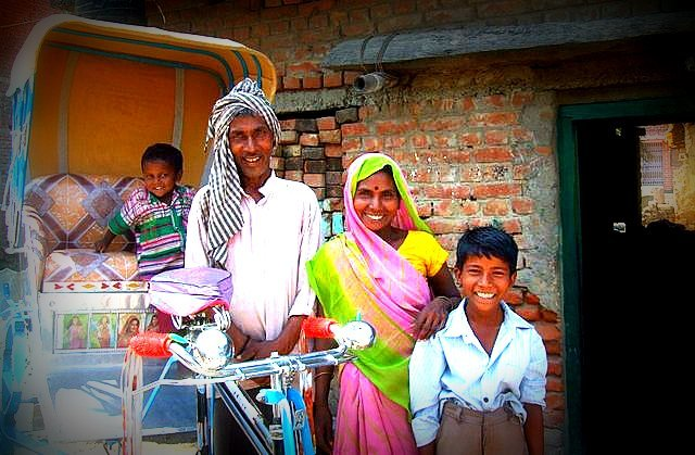 Green Riders moving out of poverty in Bihar India