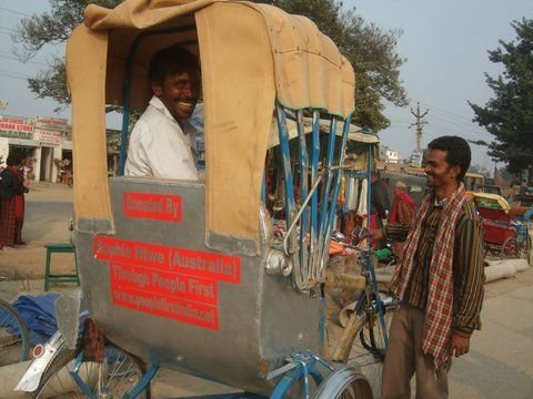 A Brand New Rickshaw