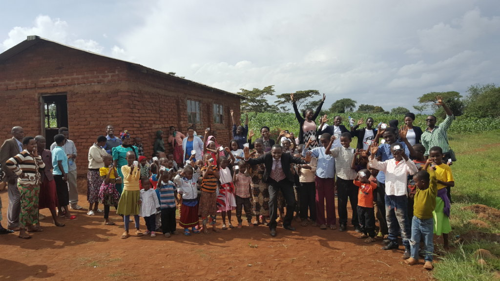 First group of beneficiaries - Tanzania