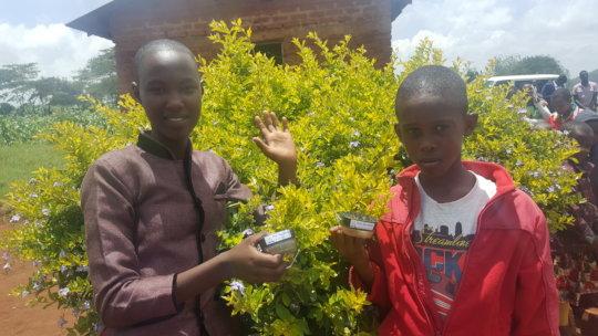 Solar Lantern Beneficiaries in Gongali - Tanzania
