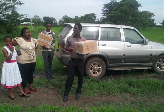 University Students in Solar Lantern Business