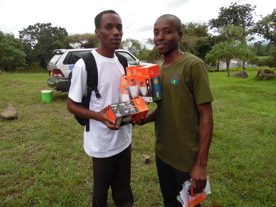 University Students Solar Lantern Business