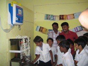 Innaugration of water purifier