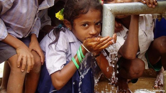 Providing safe drinking water for govt school kids