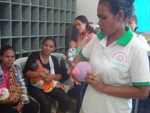 Breastfeeding counseling in community