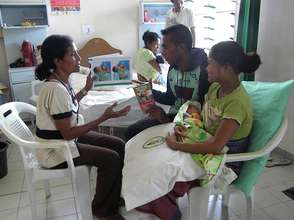 Breastfeeding counseling in health facility