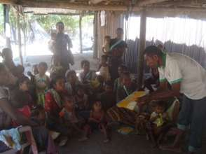 Community Base Discussion on IYCF in village