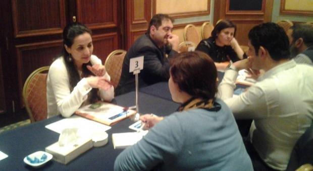Aicha Galef at Brokerage Event