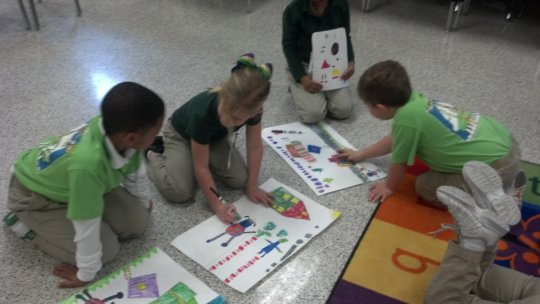 Learning shapes!