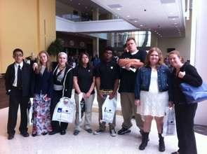 CHA South 11th & 12th Grade Students at NCF