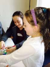 Children taking part in Purple House's Programmes